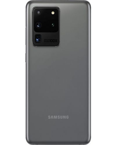 "Смартфон Samsung Galaxy S20 Ultra - 6.9"", 128GB, сив - 4"