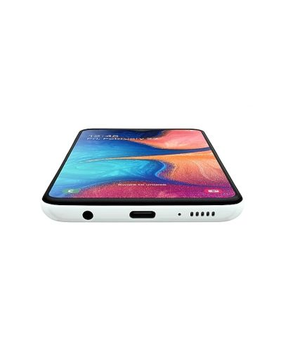 "Смартфон Samsung Galaxy A20e - 5.8"", 32GB, бял - 4"