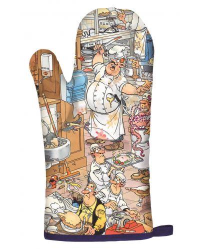 Пъзели Jumbo 2 х 1000 части - Вечеря с морски дарове и Сблъсъкът на хлебарите, Ян ван Хаастерен - 4