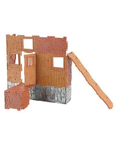 Комплект фигурки Jazwares Fortnite - Builder Set, с фигурка Black Knight, 40 части - 3