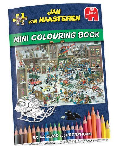 Пъзели Jumbo 2 х 1000 части - Коледните празници, Ян ван Хаастерен - 4