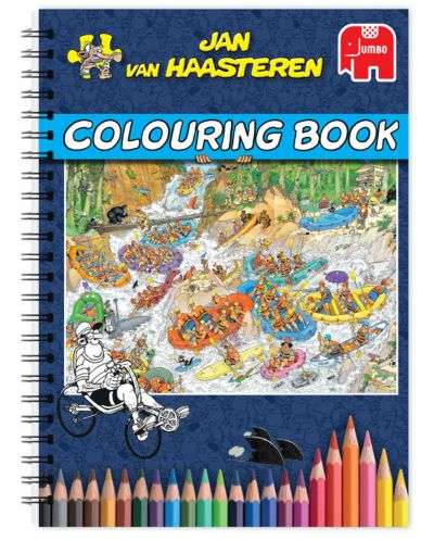 Книжка за оцветяване Jumbo - Част 1, Ян ван Хаастерен - 1