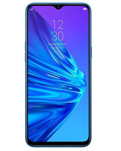 "Смартфон Realme 5  - 6.5"", 128GB, crystal blue - 1"
