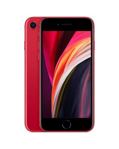 Смартфон iPhone SE - 2nd gen, 64GB, червен - 1