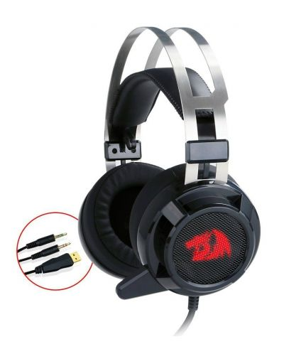 Гейминг слушалки Redragon - Siren H301, черни - 1