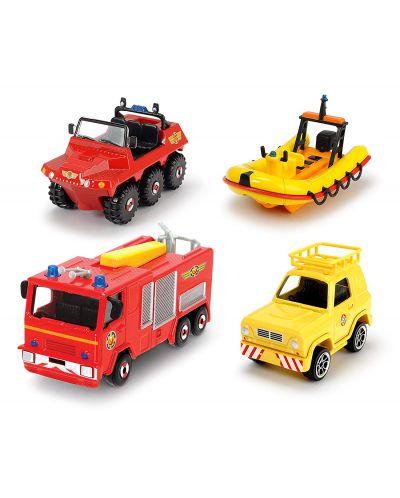 Игрален комплект Dickie Toys - Пожарникарят Сам (асортимент) - 3