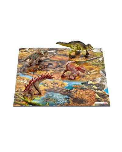 Фигурка Schleich от серията Аксесоари към Динозаври: Мини динозаври с пъзел - блата - 1