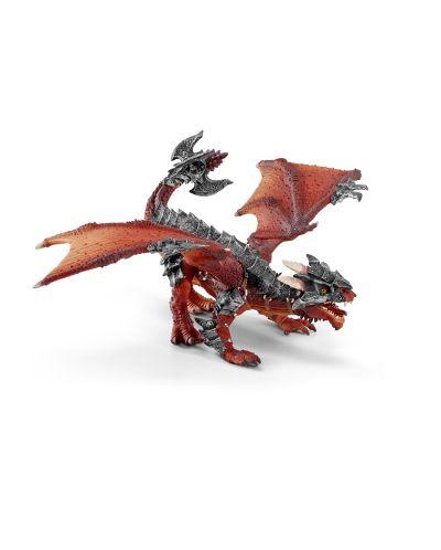 Фигурка Schleich от серията Рицари на Дракона: Воин с дракон - 2