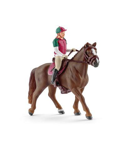 Фигурка Schleich от серията Аксесоари към Животни във фермата: Ездач - всестранна езда - 1
