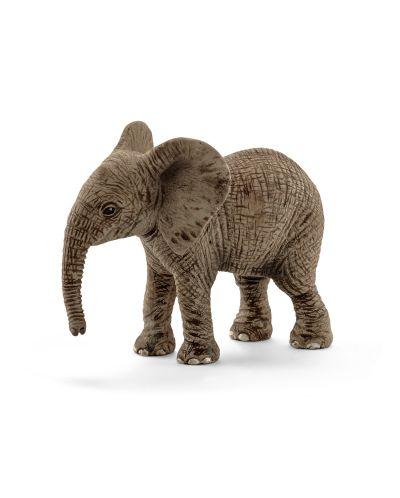 Фигурка Schleich от серията Дивия живот - Африка: Африкански слон - бебе - 1