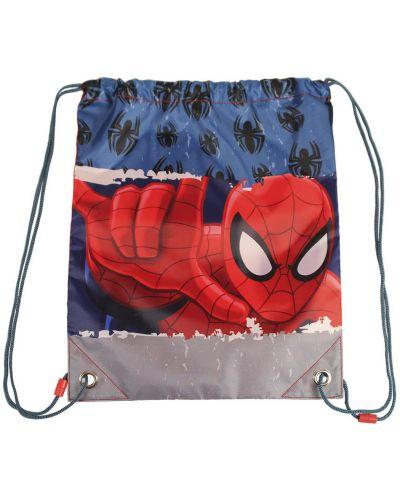 Спортен сак с връзки Cerda – Spiderman - 1