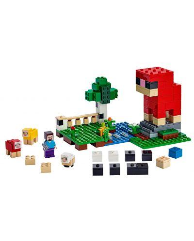 Конструктор Lego Minecraft - Фермата за вълна (21153) - 2