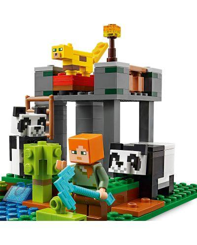 Конструктор Lego Minecraft - Детска градина за панди (21158) - 5