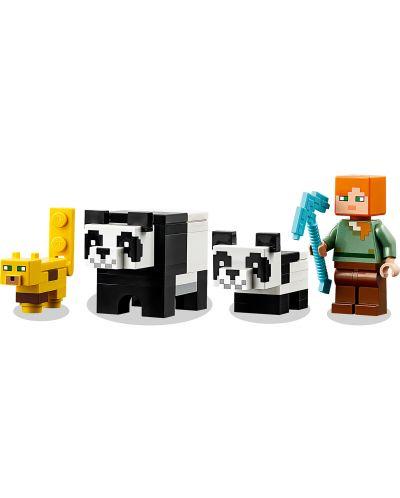 Конструктор Lego Minecraft - Детска градина за панди (21158) - 7