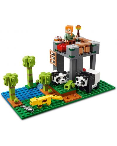Конструктор Lego Minecraft - Детска градина за панди (21158) - 4