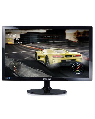 """Samsung S24D330HSX, 24"""" TN LED, GAMING, 1ms, 1920x1080, HDMI, D-SUB, 250cd/m2, Mega DCR, 178°/178°, Black High glossy - 1"""