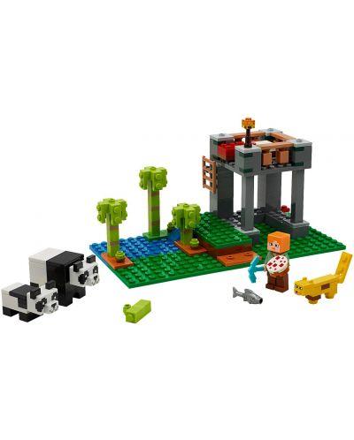 Конструктор Lego Minecraft - Детска градина за панди (21158) - 2