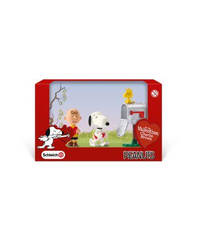 """Фигурка Schleich от серията """"Peanuts"""": Комплект Фъстъчета - Свети Валентин - 2"""