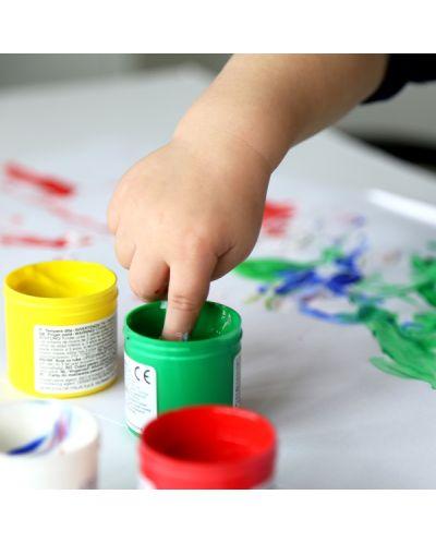 Бои за рисуване с пръсти Primo - 6 цвята, 50 ml - 2