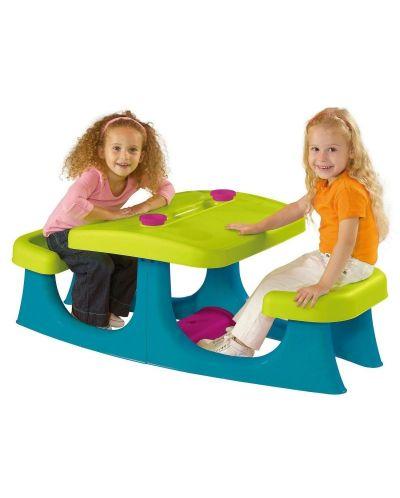 Комплект за градина Keter Patio center - Масичка с пейки - 6