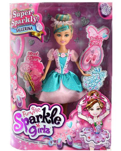 Кукла Funville Sparkle Girlz - Балерина Super Sparkly, 27 cm, асортимент - 6