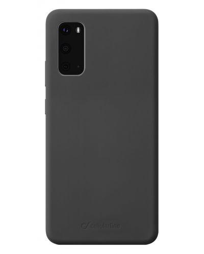 Калъф Cellularline - Sensation, за Samsung Galaxy S20, черен - 1