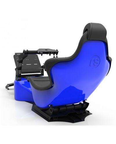 Racing Simulator RSeat RS Formula V2 - черен/син  - 4