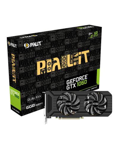 Видеокарта Palit GeForce GTX 1060 Dual (6GB GDDR5) - 1