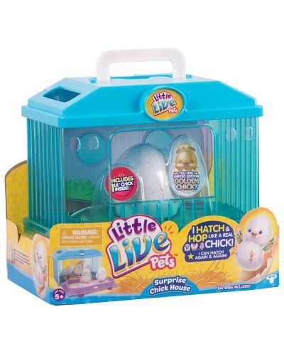 Интерактивно пиленце с черупка в къща Moose Little Live Pets - 1