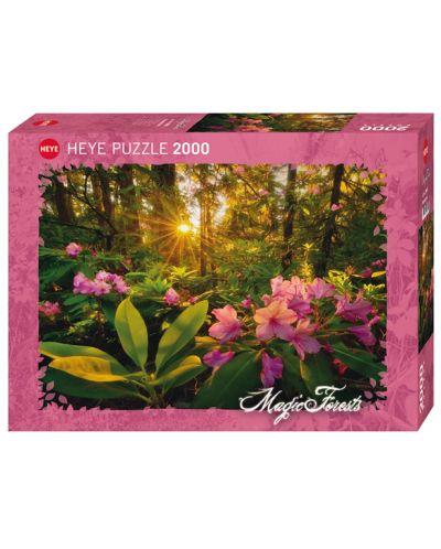 Пъзел Heye от 2000 части - Рододендрон, Магическата гора - 1