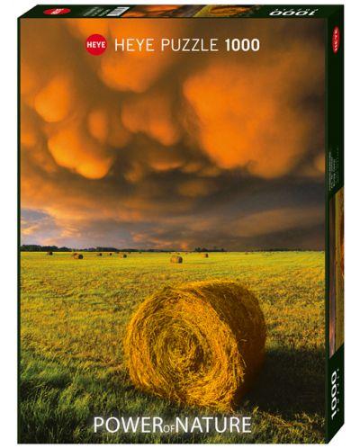 Пъзел Heye от 1000 части - Разразяваща се буря, Силата на Природата - 1