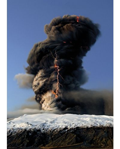 Пъзел Heye от 1000 части - Черен облачен вихър, Силата на Природата - 2
