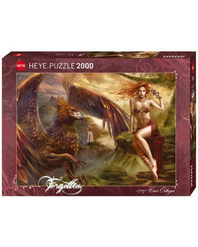 Пъзел Heye от 2000 части - Кралицата на орлите, Крис Ортега - 1