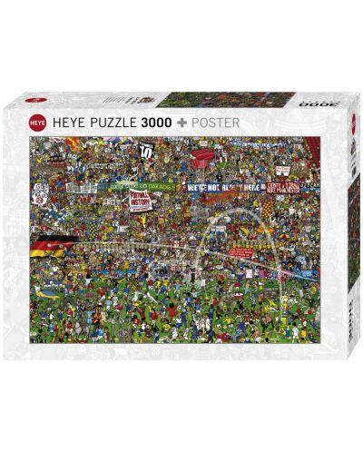 Пъзел Heye от 3000 части - История на футбола, Алекс Бенет - 1