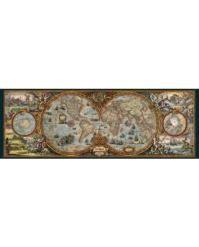Пъзел Heye от 6000 части - Карта на полукълбата - 2