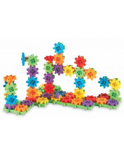 Детски конструктор със зъбни колела Learning Resources -100 части - 2