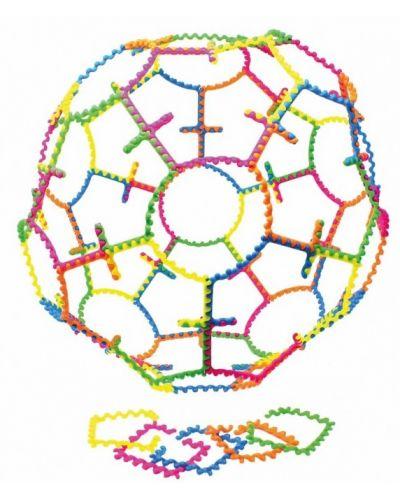 Цветен конструктор Learning Resources - 20 гъвкави части - 2