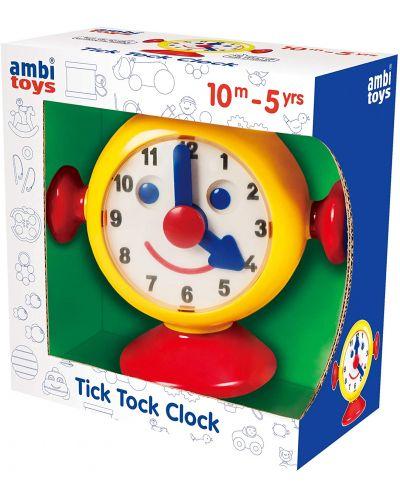 Детска играчка Ambi Toys - Моят първи часовник, Тик-так - 1