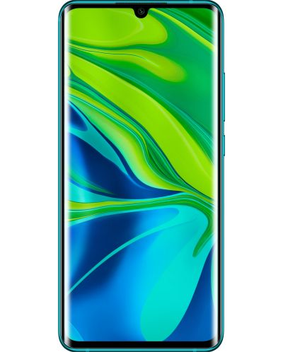 "Смартфон Xiaomi Mi Note 10 - 6.47"", 128GB, aurora green - 1"