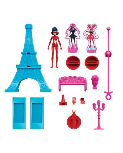 Игрален комплект Bandai  Мега-чудесата на Калинката и Черния котарак - Айфелова кукла - 2