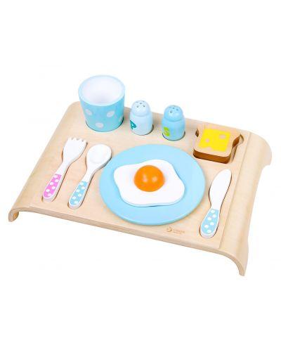 Дървен пъзел Classic World - Комплект за закуска - 1