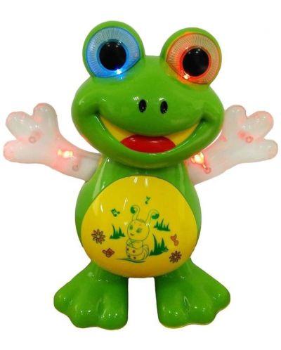 Интерактивна играчка Happy Toys - Жаба, танцуваща и пееща на български език - 2