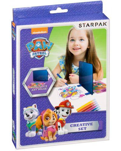 Комплект за прекопиране Starpak Paw Patrol - С магическо огледало - 1