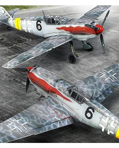 Военен самолет Academy Messerschmitt Bf 109 T-2 (12225) - 2