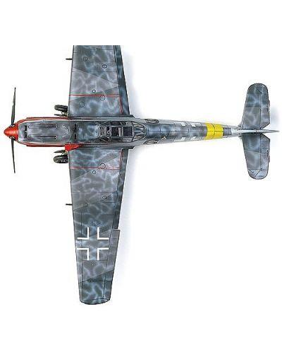 Военен самолет Academy Messerschmitt Bf 109 T-2 (12225) - 4
