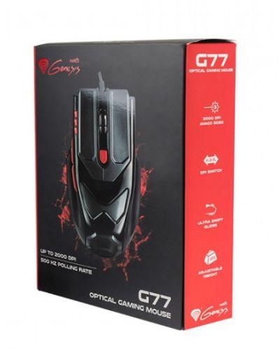 Гейминг мишка Genesis -  G77, оптична, черна - 4