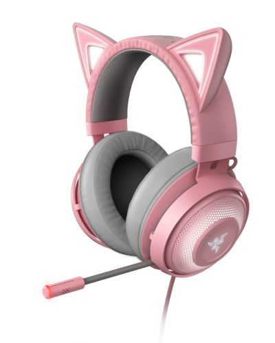 Гейминг слушалки Razer Kraken Kitty Ed. - Quartz - 1