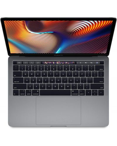 "Лаптоп Apple MacBook Pro - 13"", Touch Bar, Space Grey - 2"