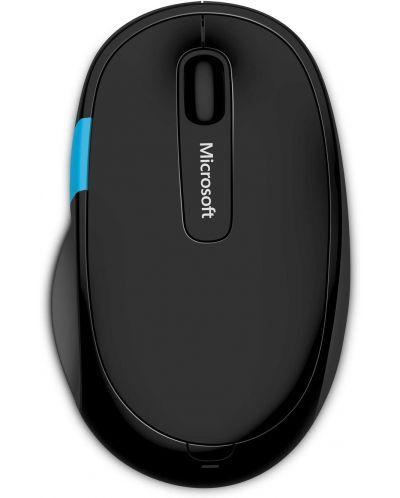 Мишка Microsoft - H3S-00001, безжична, черна - 1