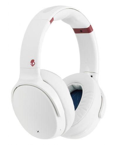 Слушалки с микрофон Skullcandy - Venue Wireless, white/crimson - 2